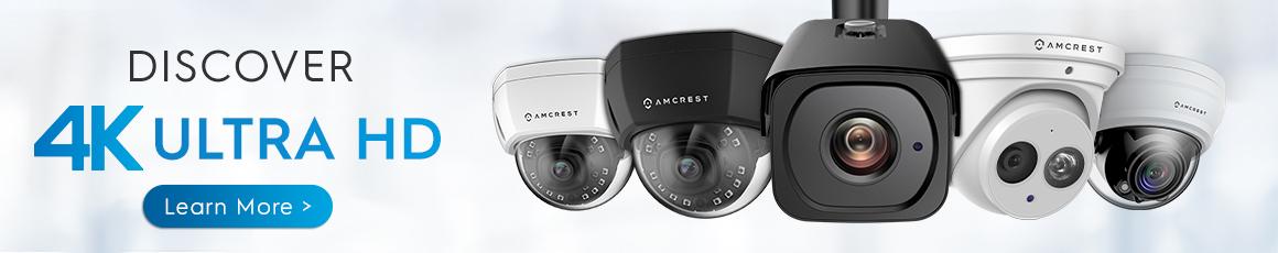 IP POE 4K security camera