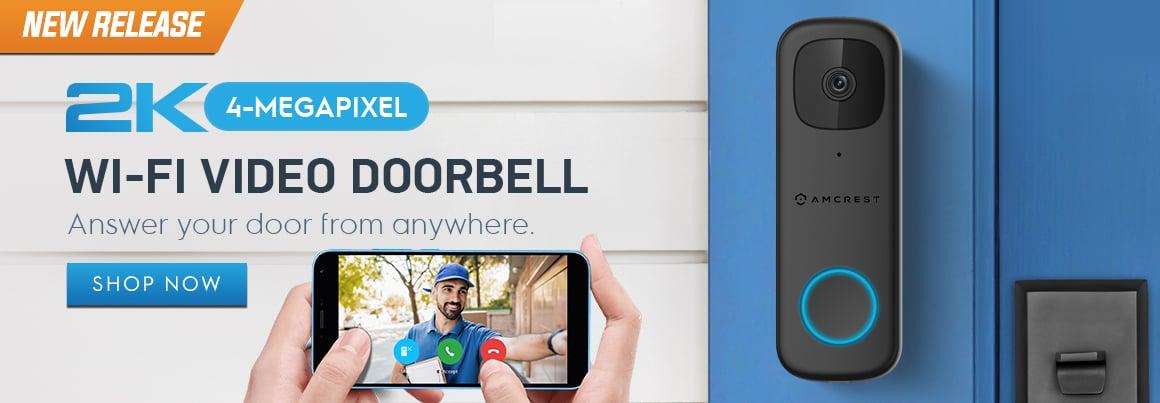 Amcrest Wifi Doorbell Camera