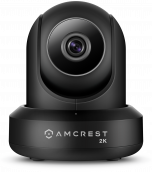 Amcrest UltraHD 2K WiFi Security Camera Wireless Video Surveillance System Pan Tilt IP Camera Dual Band 5ghz/2.4ghz,  Two-Way Audio, 3-Megapixel (3MP/2304TVL), Cloud/MicroSD/NVR Storage, Wide 90° Viewing Angle, Night Vision and PTZ Digital Zoom IP3M-941B