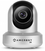 Amcrest UltraHD 2K WiFi Security Camera Wireless Video Surveillance System Pan Tilt IP Camera Dual Band 5ghz/2.4ghz, Two-Way Audio, 3-Megapixel (3MP/2304TVL), Cloud/MicroSD/NVR Storage, Wide 90° Viewing Angle, Night Vision and PTZ Digital Zoom REP-IP3M-94