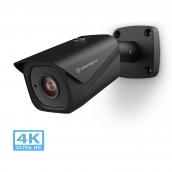 Amcrest UltraHD 4K (8MP) Outdoor Bullet POE IP Camera, 3840x2160, 131ft NightVision, 2.8mm Lens, IP67 Weatherproof, MicroSD Recording, Black (REP-IP8M-2496EB-28MM) (Certified Refurbished)