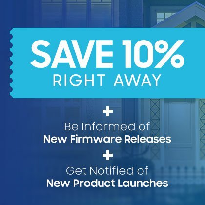 Save 10% Right Away